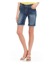 Silver Jeans Co. - Blue Suki Bermuda Shorts - Lyst