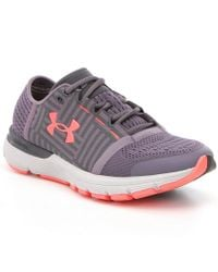 Under Armour | Gray Ladies Speedform Gemini 3 Lace Up Running Shoes | Lyst