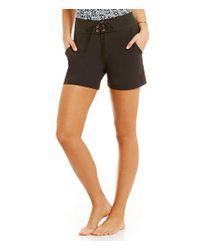 """La Blanca - Black All Aboard 5"""" Board Shorts - Lyst"""