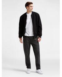DKNY Gray Waterproof Pocket Sweatpants for men