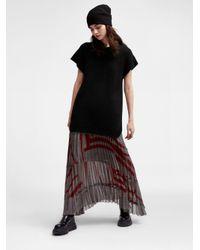 DKNY | Black Pure Merino Ribbed Pullover | Lyst