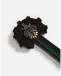 Dolce & Gabbana - Metallic Roundel Pin - Lyst