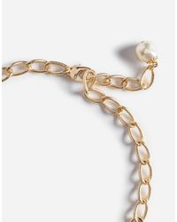 Dolce & Gabbana - Metallic Pendant Necklace With Crystals - Lyst