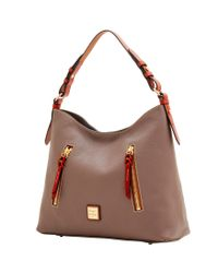 Dooney & Bourke - Multicolor Pebble Grain Cooper Hobo - Lyst