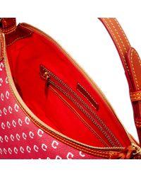 Dooney & Bourke - Red Mlb Indians Hobo - Lyst