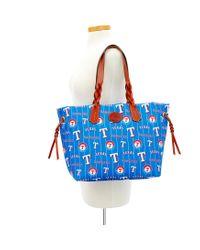 Dooney & Bourke - Blue Mlb Rangers Shopper - Lyst