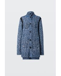 Dorothee Schumacher - Blue Take Off Cardigan 1/1 - Lyst