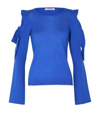 Dorothee Schumacher | Blue Galactic Romance Pullover O-neck 1/1 | Lyst