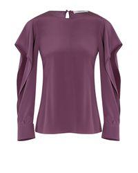 Dorothee Schumacher | Purple Fabulous Flow Blouse 1/1 | Lyst