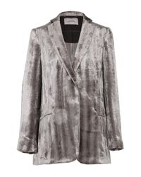 Dorothee Schumacher - Gray Smooth Flaunt Jacket - Lyst
