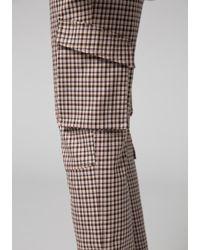 Dorothee Schumacher - Multicolor Joyous Check Cargo Pants - Lyst