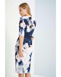 Dorothy Perkins - Blue Little Mistress Floral Shift Dress - Lyst