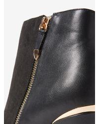 Dorothy Perkins Black Wide Fit Exclusive Agnes Boots