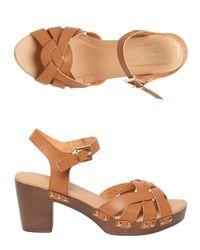 Dorothy Perkins - Brown Tan 'ross' Twist Clog Sandals - Lyst