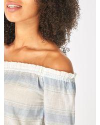 Dorothy Perkins - Multicolor Vero Moda Multi Colour Cold Shoulder Blouse - Lyst