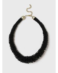 Dorothy Perkins | Black Beaded Necklace | Lyst