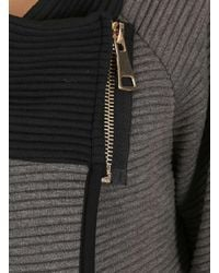 Dorothy Perkins - Gray Izabel London Grey Cardigan - Lyst