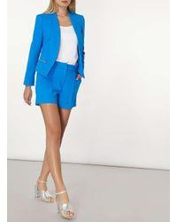 Dorothy Perkins - Blue Cobalt Crepe Shorts - Lyst