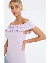 Dorothy Perkins - Purple Girls On Film Lilac Bodycon Dress - Lyst