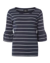 Dorothy Perkins | Blue Only Navy And White Stripe Jumper | Lyst