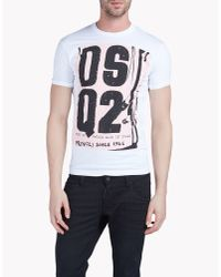 DSquared² | Black Crains Printed Jersey Sleeveless T-shirt for Men | Lyst