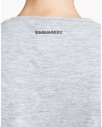 DSquared² - Gray Renny T-shirt - Lyst