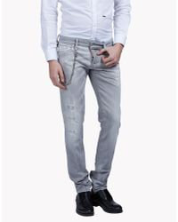 DSquared² | Gray Slim Jeans for Men | Lyst
