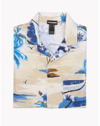 DSquared² - Natural Pajama Shirt - Lyst