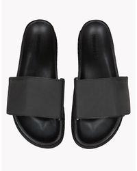 DSquared² - Black Shark Soon Sandals for Men - Lyst