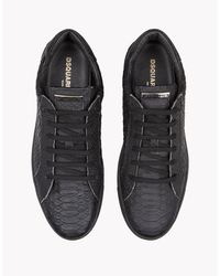 DSquared² - Black Tennis Club Sneakers for Men - Lyst