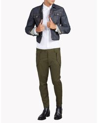 DSquared² - Green Hockney Military Pants for Men - Lyst
