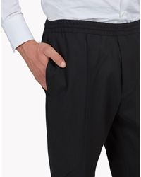 DSquared² - Black Wool Cady Pants for Men - Lyst
