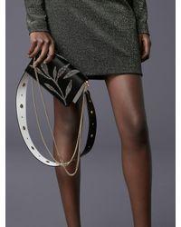 Diane von Furstenberg - Black Mini Soirée Crossbody Bag - Lyst
