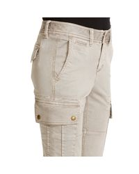 Polo Ralph Lauren - Metallic Stretch Twill Cargo Pant - Lyst