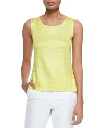 Berek - Yellow Sweet Thing Crinkle Tank - Lyst