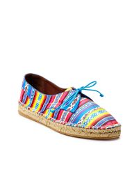 Tabitha Simmons | Multicolor Dolly Laceup Espadrille with Rope Detail | Lyst