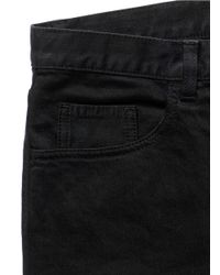 Valentino - Black Extra Slim Fit Stretch Jeans for Men - Lyst