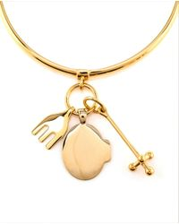 Chloé - Metallic Cross, Fork, Harlow Bracelet - Lyst