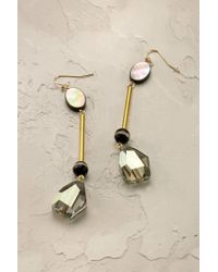 Anthropologie | Gray Paloma Earrings | Lyst