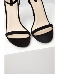 Forever 21 - Black Ankle Strap Heels - Lyst