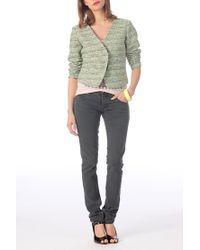 Vila | Green Blazer | Lyst