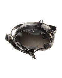 Anya Hindmarch - Black Vaughan Leather Bucket Bag - Lyst