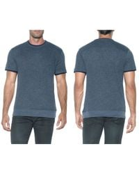 Joe's Jeans | Blue Caspian Crew Neck Tee for Men | Lyst