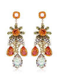 Bijoux Heart | Orange Burst Earrings | Lyst