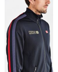 Asics | Black Mexico 66 Track Jacket for Men | Lyst