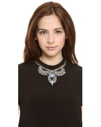 DANNIJO - Blue Izzie Necklace - Lyst