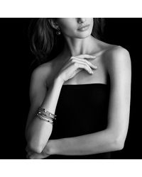 David Yurman | Color Classics Four-station Bangle With Black Onyx In Gold | Lyst