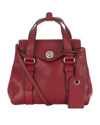 Marc By Marc Jacobs Purple Working Girl Dolly Mini Satchel