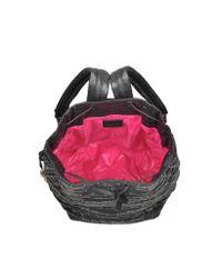 Sonia Rykiel - Alban Black Nylon W/golden Studs Backpack - Lyst