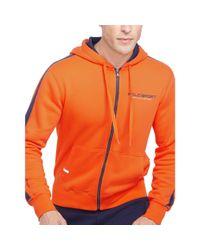 Ralph Lauren | Orange Cotton-blend-fleece Hoodie for Men | Lyst